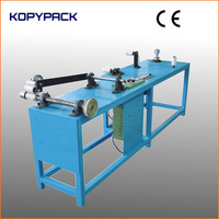 manual tape coil winding machine for rewind the unqualified coils into good quality condition