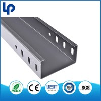 Customized hot dip galvanized difference between cable tray and cable trunking