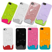 Detachable 3D Melting Ice Cream Style Hard Back Case Cover for iPhone 5S iPhone5
