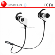 Hands free automatically on and off bluetooth earpiece with built-in magnetic controller and dynamic microphone