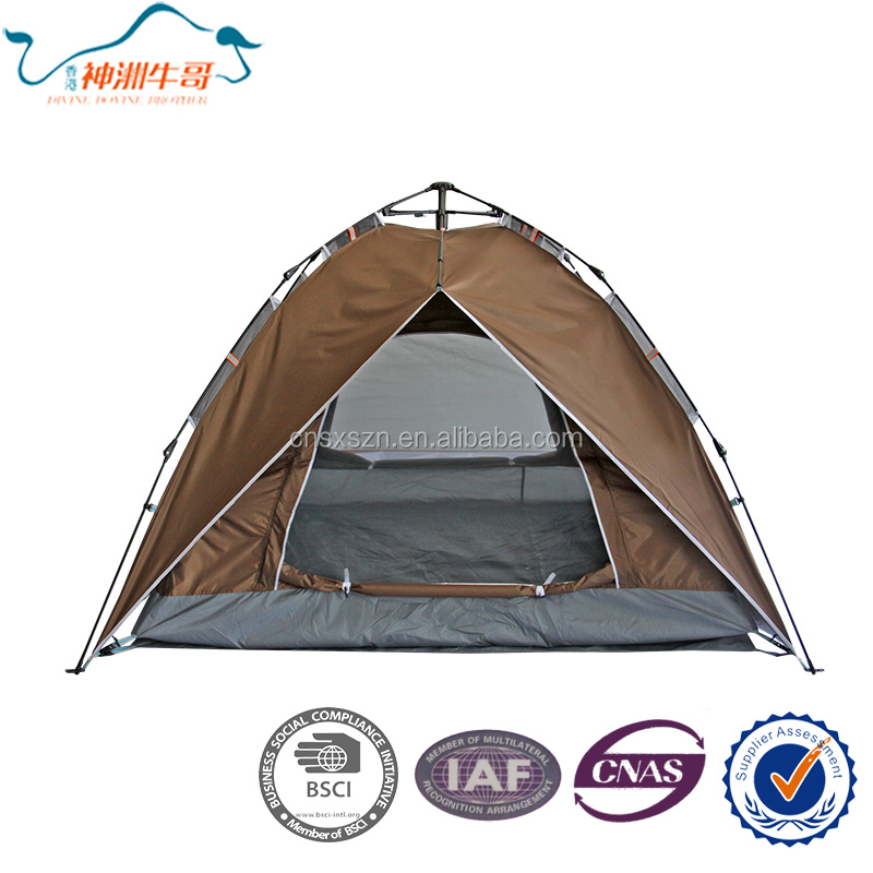 Double Layer Auto Open Multifunction Waterproof Outdoor Camping Tent