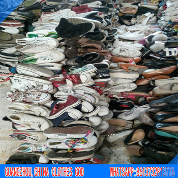 Wholesale High Quality in Guangzhou China factory Second Hand Men Sports Used Shoes for Benin