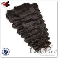 Reasonable Price Peruvian Virgin Remy Hair Machine Weft With Lace Closure