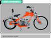 20inch-24inch chopper motor bike gas enegine motor bike