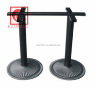 Cast iron table legs, modern furniture table legs,foshan dining room furniture