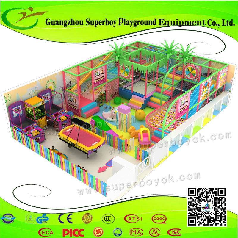 Factory Price children naughty fort toys indoor playground