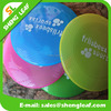 Hot custom silicone rubber flying disc dog frisbee