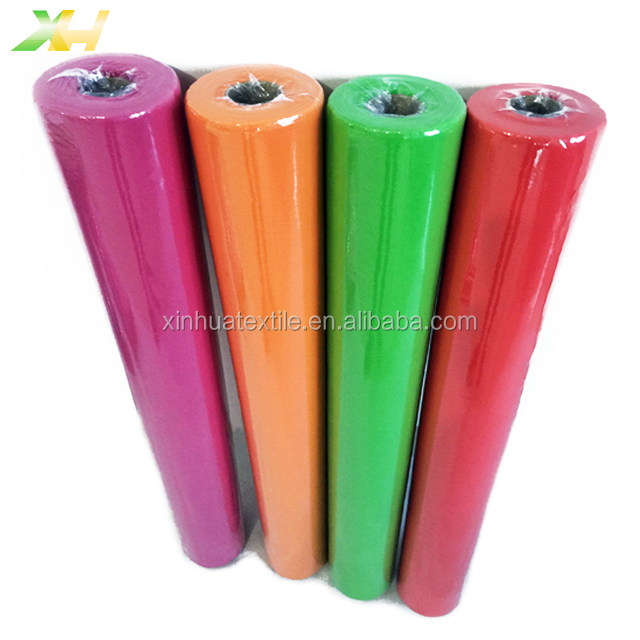 Leather emboss 100% pp spunbond nonwoven tessuto non tessuto for flower wrapping