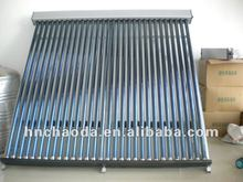 Hot water heater solar thermal collector panel for home use