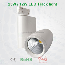 Europe standard CE SAA TUV approved Global adaptor 4 wires 3 phase 35w 45w led track light fixture