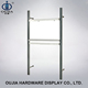 qualified brilliant fashion store wall upright post display rack shelf for clothes