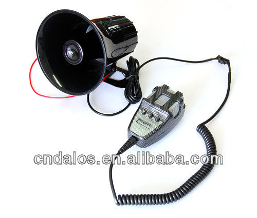 12V DLS-803-3T-Carbon car alarm siren made in China