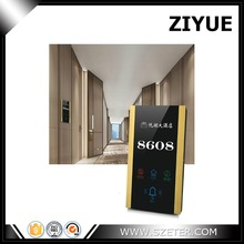 Hotel dnd indication doorbell outdoor touch panel switch