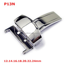 12mm 14mm 16mm 18mm 20mm 22mm 24mm fancy 316L stainless steel butterfly watch band buckles wholesale