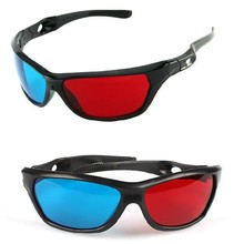 universal 3D plastic glasses/oculos/red blue cyan 3D glasses anaglyph 3Dglasses