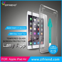 Easy Install Tempered Glass Screen Protector for iPad Air 2