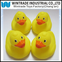 Floating Yellow Duck Rubber Bath Toy