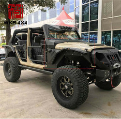 Hot Sale Armor Skin Auto Parts Fender Flares for Jeep Wrangler JK Sahara Accessories JK Fenders