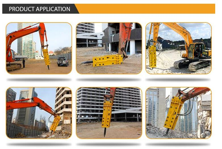SB81 Hydraulic breaker for excavator construction drilling machine SP1400