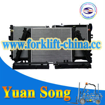 Radiators_China Radiator of Forklift Parts with good heat dissipation