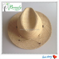 Wholesale Cheap Summer Panama Raffia Straw Hat