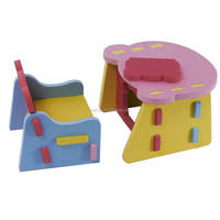 new lovely baby play Christmas eva chair and table