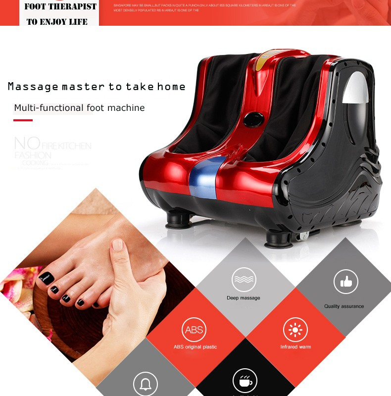 Multi Function Health Protection Instrument Foot Massager /Electric Foot Massage Machine For Body