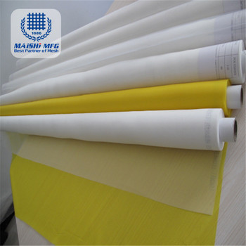 silk fabric 77T 55 micron screen printing mesh for printing