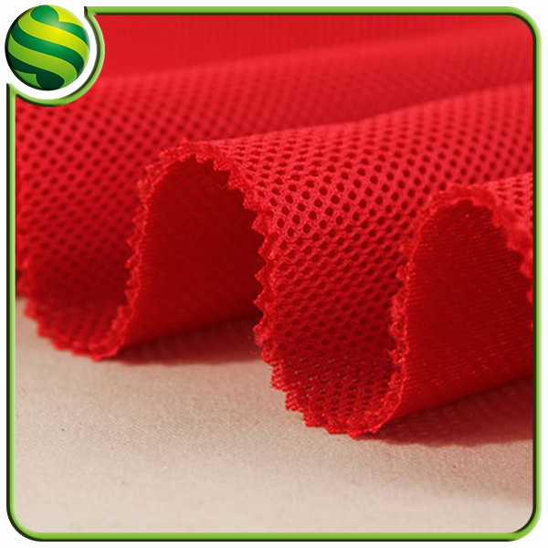 China Supply Air Layer Breathable Water Resistant Polyester Fabric Price Per Meter