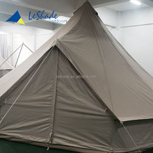 winterized to live in canvas bell tent