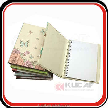 A5/a6 spiral notebook with elastic band custom planner book