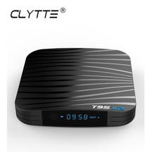 CLYTTE T95X2 TV BOX New chip S905X2 T95X2 tv box 4G 64G Cable <strong>Receiver</strong> 4k support Android 8.1 smart android tv box