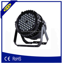 HY-L16 led stage spotlight 64 3w waterproof led par 64 3 watts