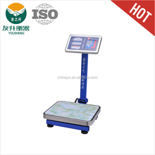 YS-133 electronic weighing scale with computer interface With Bigger Screen,LCD display,Super long standby.