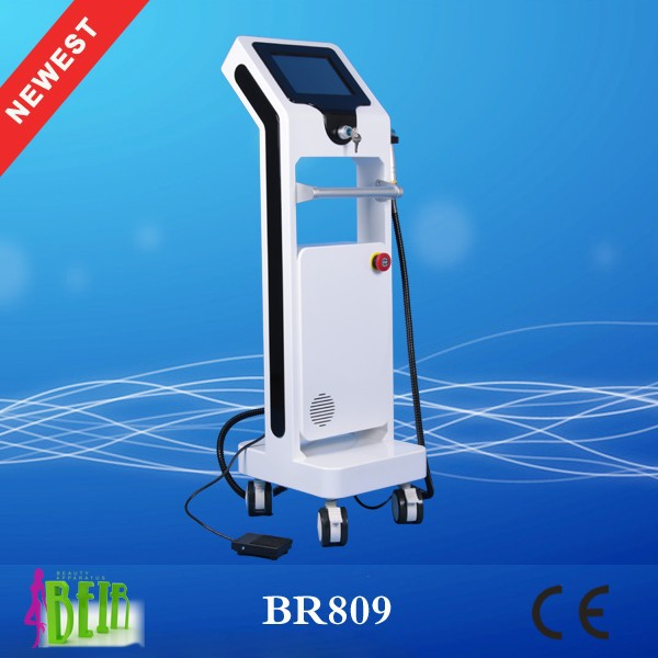 newest fractional microneedle rf small unit/ super powerful wrinkle removal thermagic FR-1 with multi-languages