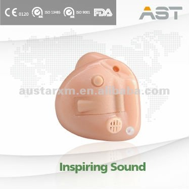 Custom-made Class-D Invisible mini ITC Hearing Aid