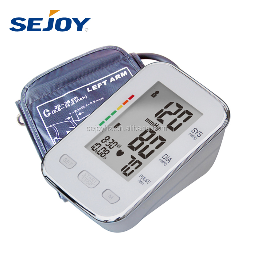 Talking PC Link Portable Automatic Upper Arm Digital Blood Pressure Monitor