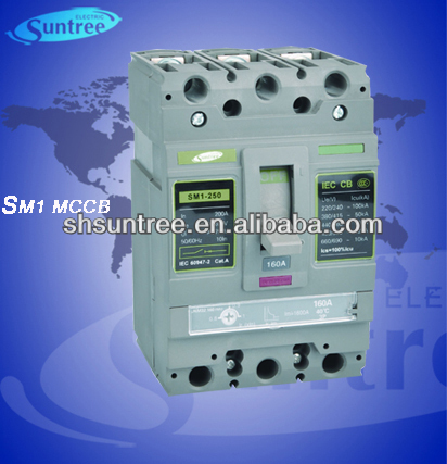 SM1 Solar System MCCB Moulded Case Circuit Breaker