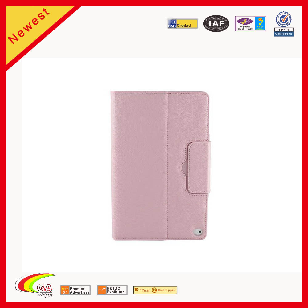 PU Leather Bluetooth Keyboard Flip Case Cover For Ipad Air 2