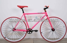 girls700C fixed gear bicycle /popular steel fixie bike for sale