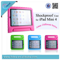 Kids Shockproof EVA Foam Handle Case for iPad Mini 4 EVA tablet case