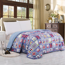 High quality patchwork quilt baby bedding set microfiber quilt polyester Multiple quilt