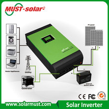 2016 Big Sale !!! Widely used Top Quality CE approved Best Selling 1000VA 2000VA 3000VA Hybrid Solar Inverter