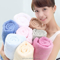 100% cotton plain dyed Christmas gift lovely birthday towel cakes