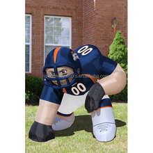2018 Hot sale Denver Broncos NFL Player inflatable lawn figure for advertising