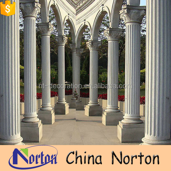 faux decorative marble columns and pillars wholesale NTMF-C013Y