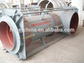 Shape bending pressure balance type expansion joint as pump