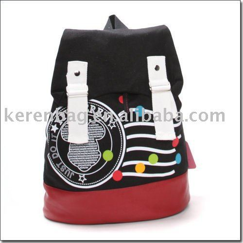 Famous Brand useful canvas vintage pull bag for school