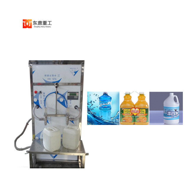 semi-automatic diesel engine tail gas treatment liquid/Liquid pesticides/antifreeze filling machine