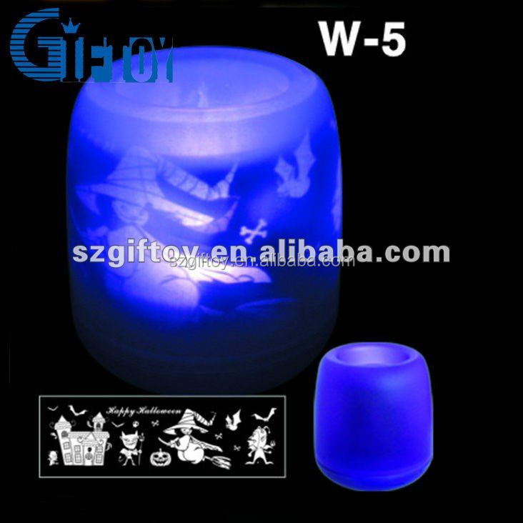 New electric image projection led candles 2014